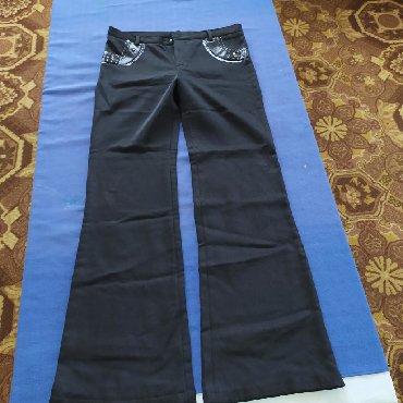 женские-брюки-черные в Кыргызстан: Женские брюки утеплённые.300с.г.Токмок