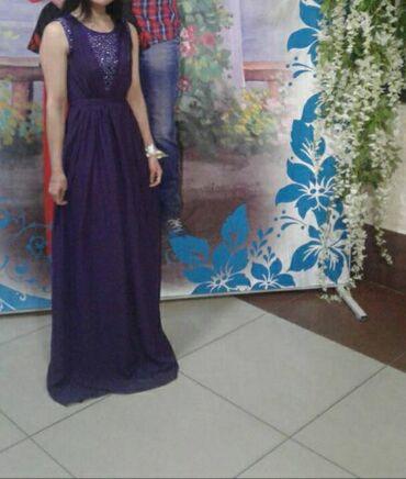 вечернее платье на выпускной в Кыргызстан: Продаю или дам на прокат(за 500 сом на прокат) вечернее платье,цвет
