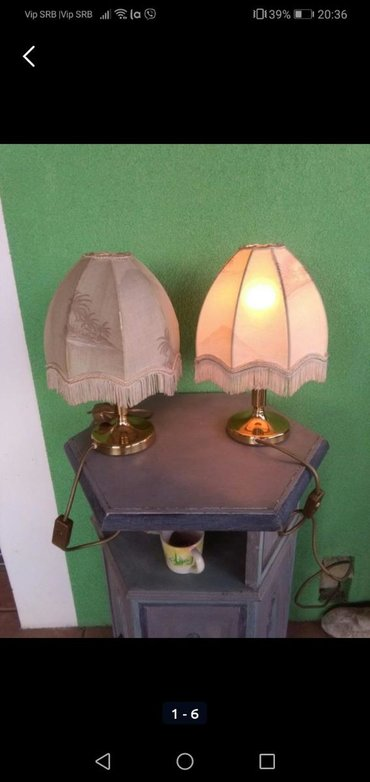 Rasveta | Sombor: Lampe dve manje, korištenw