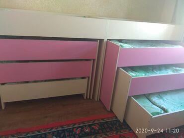 4 х ярусная кровать, с бельем ( одеяло, подушка, постельное белье ), с
