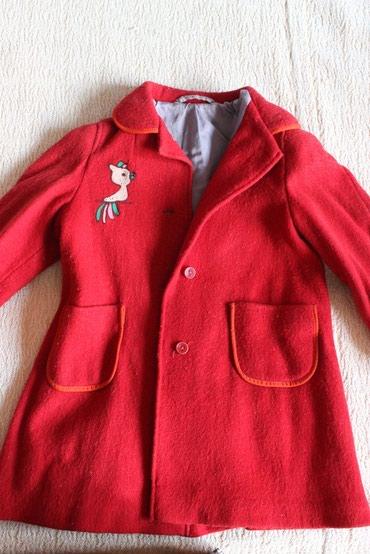 Детское пальто, б/у, на 5-6 лет в Бишкек
