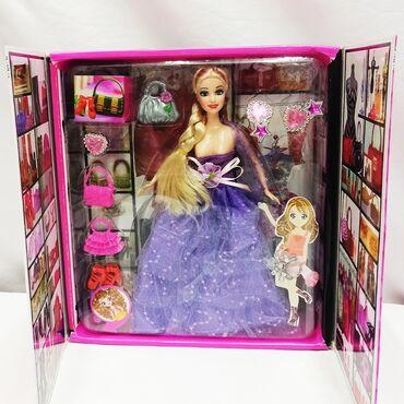 Набор модницы - нарядная кукла в комплекте с аксессуарами!!⠀Размер