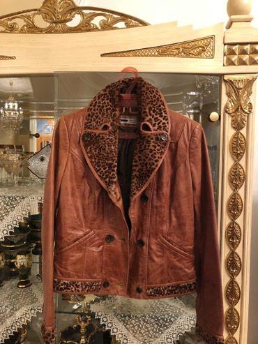 Bakı şəhərində Кожанная куртка, натуральная, в хорошем состоянии , размер М. 125 azn