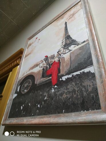 Portret sekil ressam isidi (PARIJ) moskvadan getirmisem