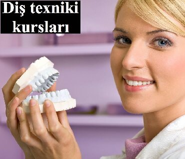 uşaq üçün diş məcunu - Azərbaycan: Dis texniki kursu