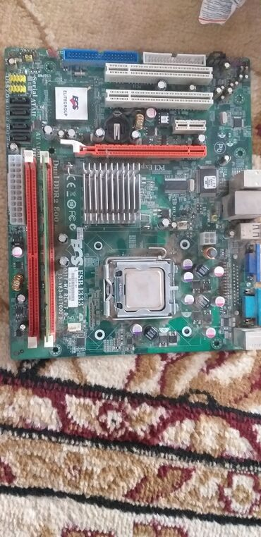 материнские-платы-1 в Кыргызстан: Мaтеринка плюс 1 гб оперативка и процессор 2.50ghz