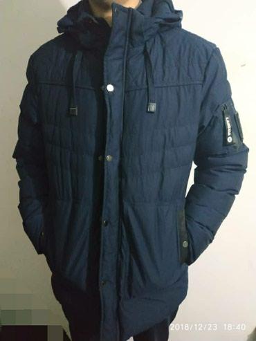 Теплая зимняя куртка, почти новая в Бишкек
