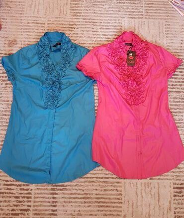 Рубашки новые, размер 46-48, 44-46 обмен на 3 литра масла