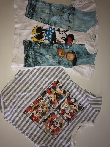Dečija odeća i obuća | Tutin: Dve majice 110
