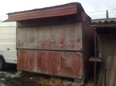 Продаётся павильон 3,5х2 м. железные сьемные панели. в Бишкек