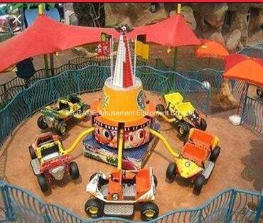 Детский мир - Базар-Коргон: Детский аттракцион (карусель 6 машин)