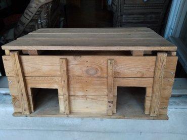 Домик деревянный для морских свинок в Бишкек