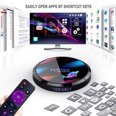 H96 max X3 - Adi tv-ni smart tv-ye ceviren cox gozel, yuksek