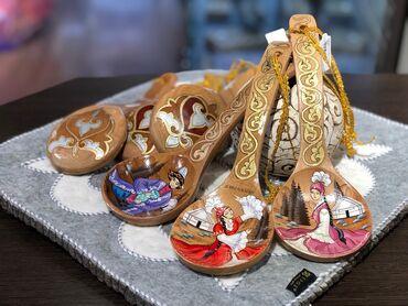 Коллекционные ложки в Кыргызстан: Деревянные Ложки!!!  Сувенирные деревянные ложки с ручной росписью