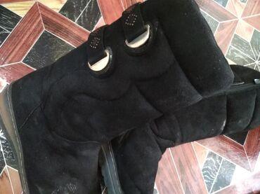 Женская обувь в Беловодское: Сапоги очень теплые ~40р,в хор сост(на фото пыльные)
