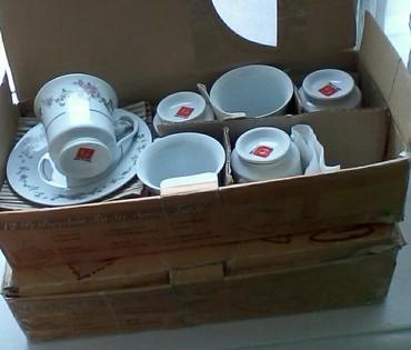 Чайный набор 12 блюдцев и 9 бокальчиков  в Бишкек