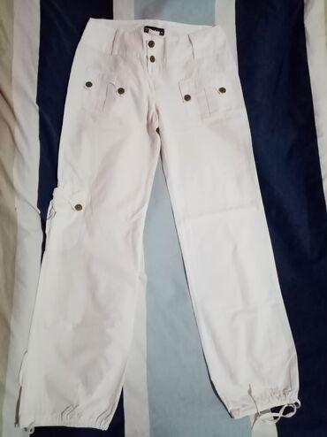 Pantalone bele clockhouse - Srbija: Bele pantalone vel 38