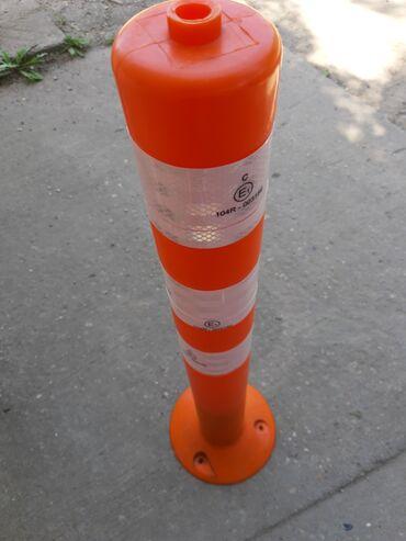Kolica - Srbija: Elastični stubići visina 77cm, širina 8cm montira se na 3 tipla u
