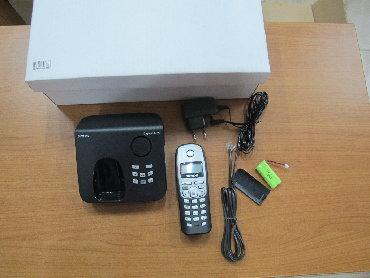 besprovodnoi telefon gigaset в Азербайджан: Ev telefon GigasetЗаменены аккумуляторы. Обновлено ПО. На устройстве