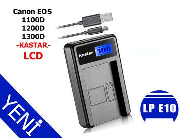 Kastar LP E10 USB-LCD adaptorCanon 1100D adaptorCanon 1200d