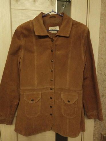 Натуральная замшевая куртка-пиджак, в Бишкек