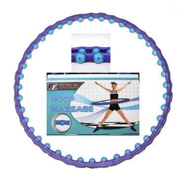Спорт и хобби - Мыкан: Обруч массажный антицеллюлитный Sunlin Hoop Massage - отличное