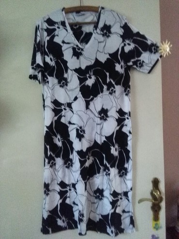 Haljina za krupnije dame nova,rastezljiv materijal,nije nosena - Sombor