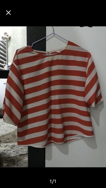 блузки-рубашка в Кыргызстан: Тельняшка блузка koton