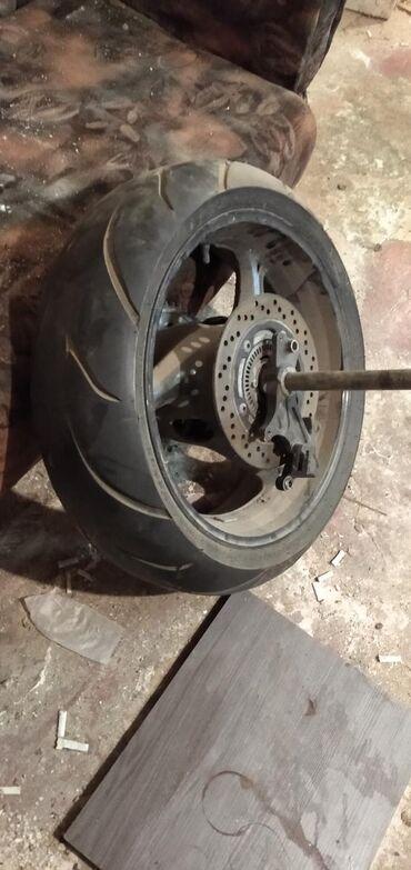 Продаю колесо заднее в сборе от спорт байка супорт с гидравлекой