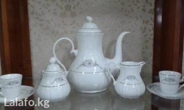 Хороший чайный сервиз — непременный в Бишкек