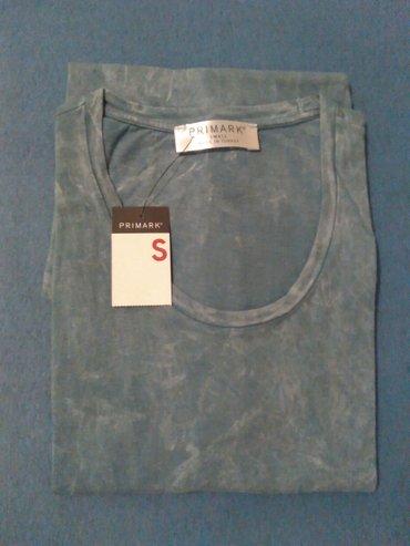 Muska majica bez rukava,plava,marka Primark,velicina S,vrhunski - Nis