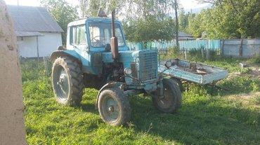 Продаю трактор МТЗ 80 с комбайном в Бакай-Ат
