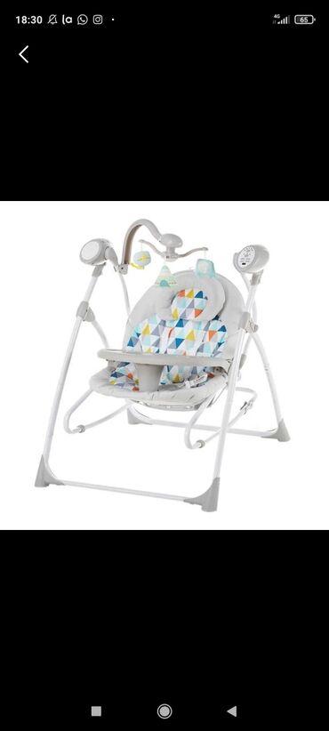 шезлонг для новорожденных в Кыргызстан: Шезлонг электрический. Музыкальное сопровождения. Несколько режимов