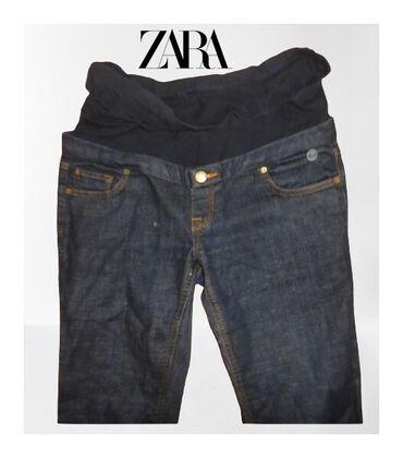 Pamucni kombinezon - Srbija: Farmerke trudnicke Zara vel. M/28dimenzije su sledecesirina u delu