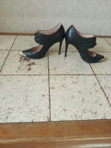 черные-женские-туфли в Кыргызстан: Женские туфли.Из США .Каблук 10см.Enzo Angiolini .Размер 35.5.Один ра