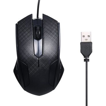 Мышка USB оптическая HYD-061-xs-3000DPI 2 кнопки