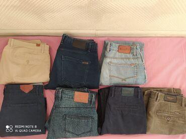 Мужские джинсы, в очень хорошем состоянии. Размеры 31-32