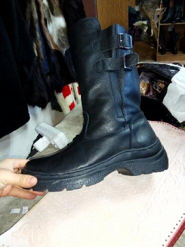 """сапоги мужские в Кыргызстан: Зимние мужские сапоги """"тайга"""" ручной работы. Натуральная кожа и"""