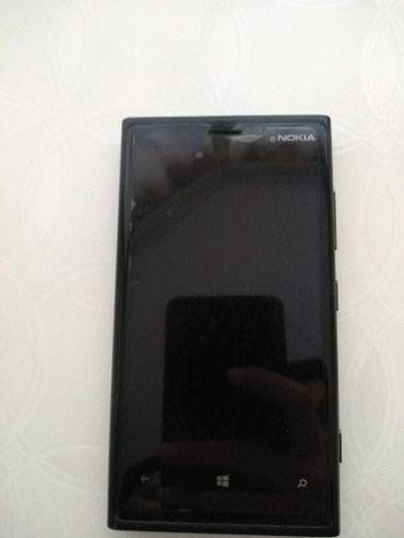 Bakı şəhərində Nokia Lumia 920.Az islenilib.Qara rengde,qirigi yoxdur,29Gb.