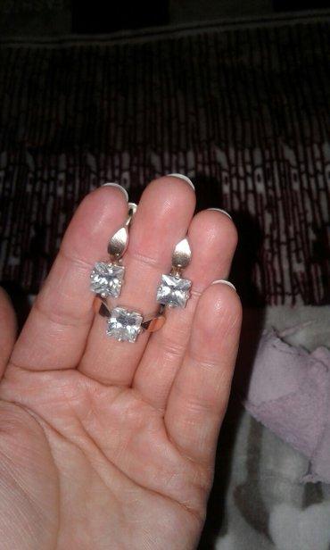 Срочно продаю набор серебро 8 карат с в Бишкек