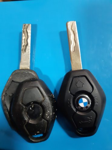 Чип ключ БМВ BMW, замена и заточка в Бишкек