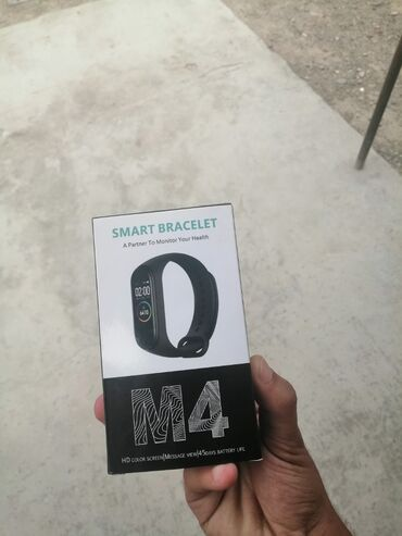 M4 Ağıllı Saat Orjinal®• Daha rahat interfeys ✔• Rəngli AMOLED ekran•