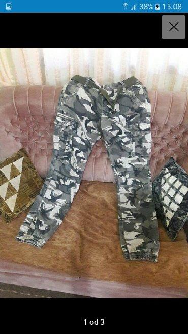 Maskirne pantalone - Srbija: Maskirne pantalone L vel Uplata pa slanje ili licno preuzimanje