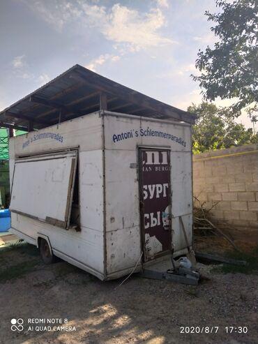 жилые вагончики бу в Кыргызстан: Срочно продаю фургон на колёсах. Внутри имеется вытяжка, столечницы