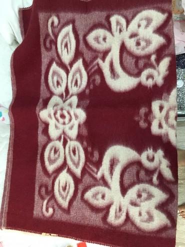 шерстяное одеяло меринос в Кыргызстан: Шерстяное детское одеяло, размер 100х140 см