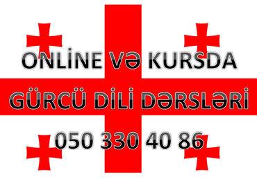 Onlayn Gürcü dili kursları Karantin günlərində evdə boş-boş internetd