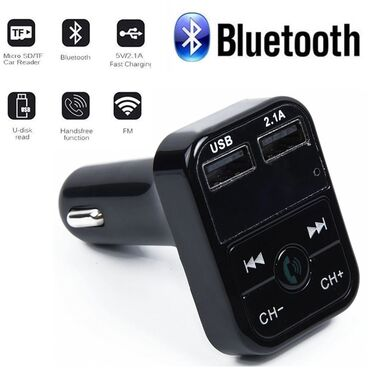 Auto oprema - Srbija: FM Transmiter Bluetooth Handsfree Kit Auto Punjac* Auto-komplet