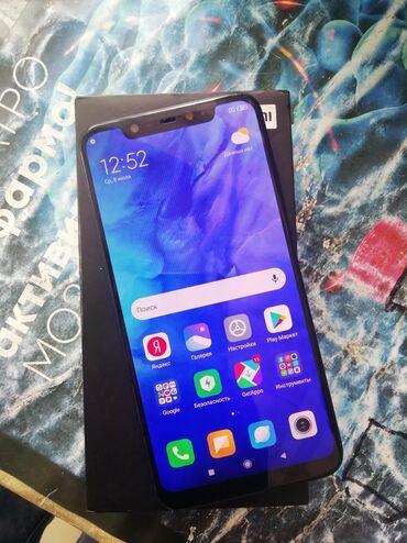 Мобильные телефоны и аксессуары в Душанбе: Б/у Xiaomi Mi 8 128 ГБ Черный