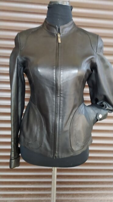 Женская одежда - Мыкан: Кожаная курточка, состояние отличное, размер 42-44, мне маловаты