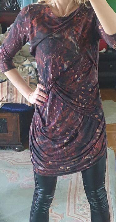350 oglasa: Karen Millen original tunika, haljina. Napred naborana, fazonska